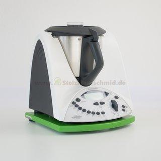 Gleitbrett für Thermomix TM31 grün lackiert