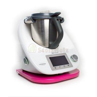 Gleitbrett für Thermomix TM5 / TM6 pink lackiert