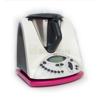 Gleitbrett für Thermomix TM31 pink lackiert