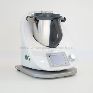 Gleitbrett für Thermomix TM5 / TM6 Esche silver grey geölt