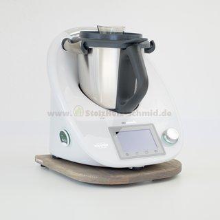 Gleitbrett für Thermomix TM5 / TM6 Esche ash grey geölt